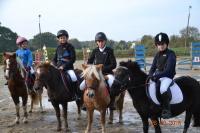 Les cavaliers poneys du mont d'auget font leurs armes en concours